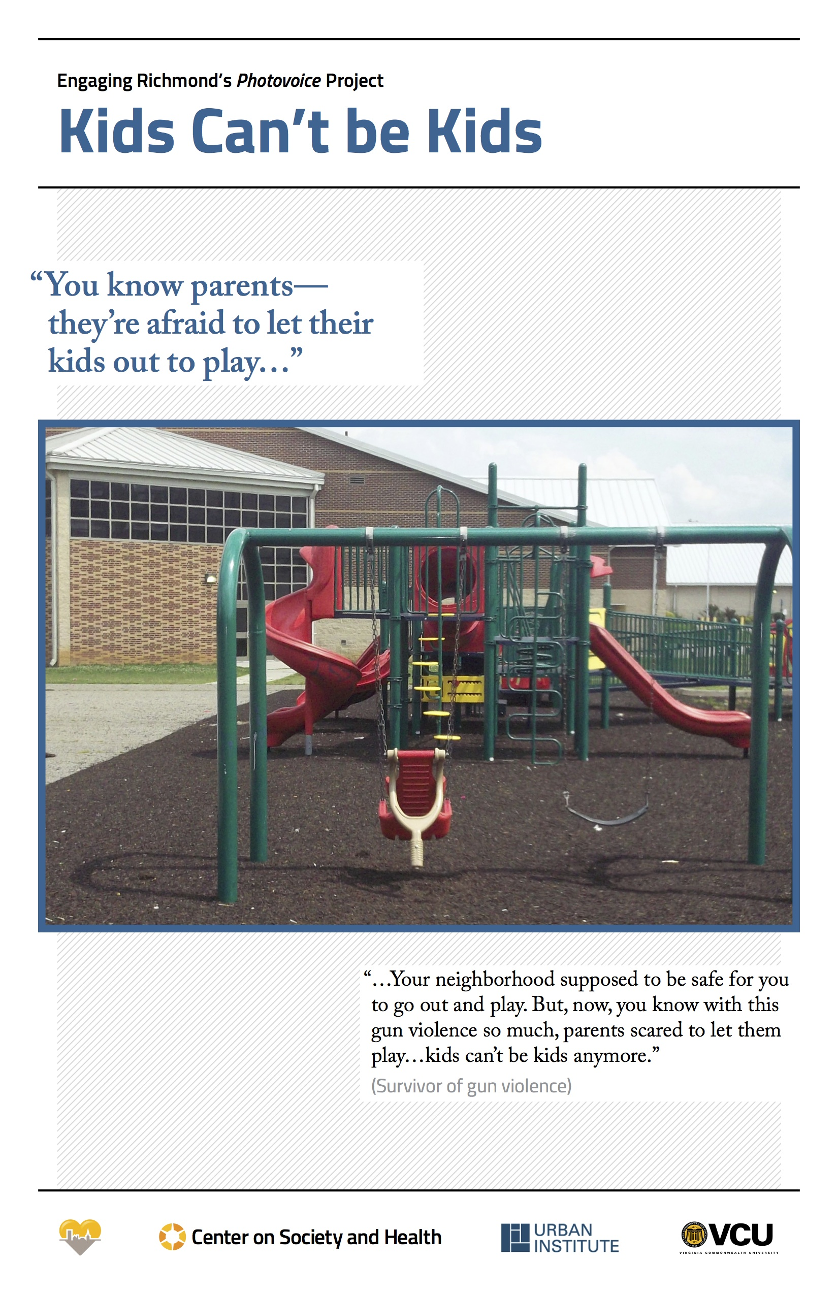 Slide 1: Kids Can't be Kids